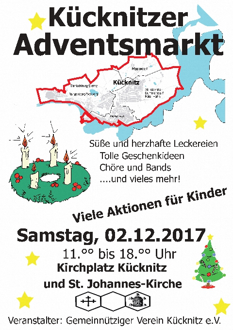 2017 Adventsmarkt Plakat