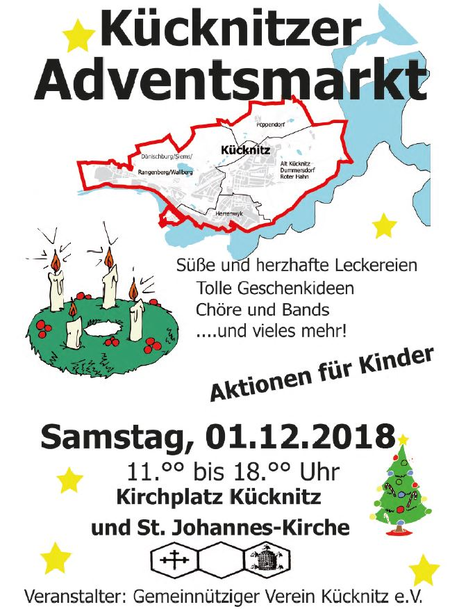 2018 Adventsmarkt Plakat