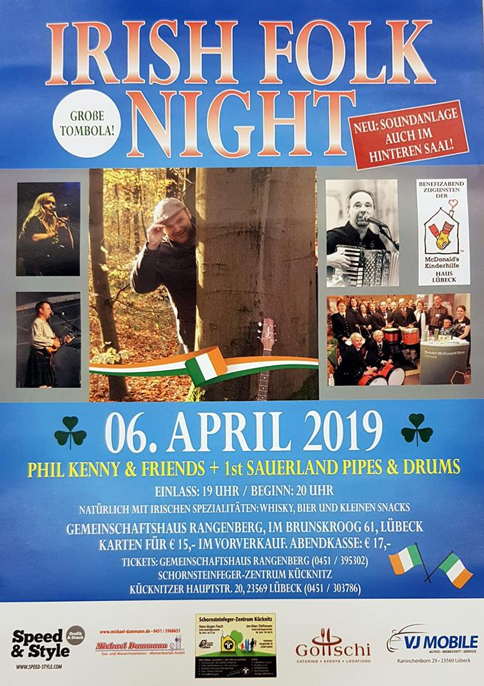 Irish Folk Night 20190406